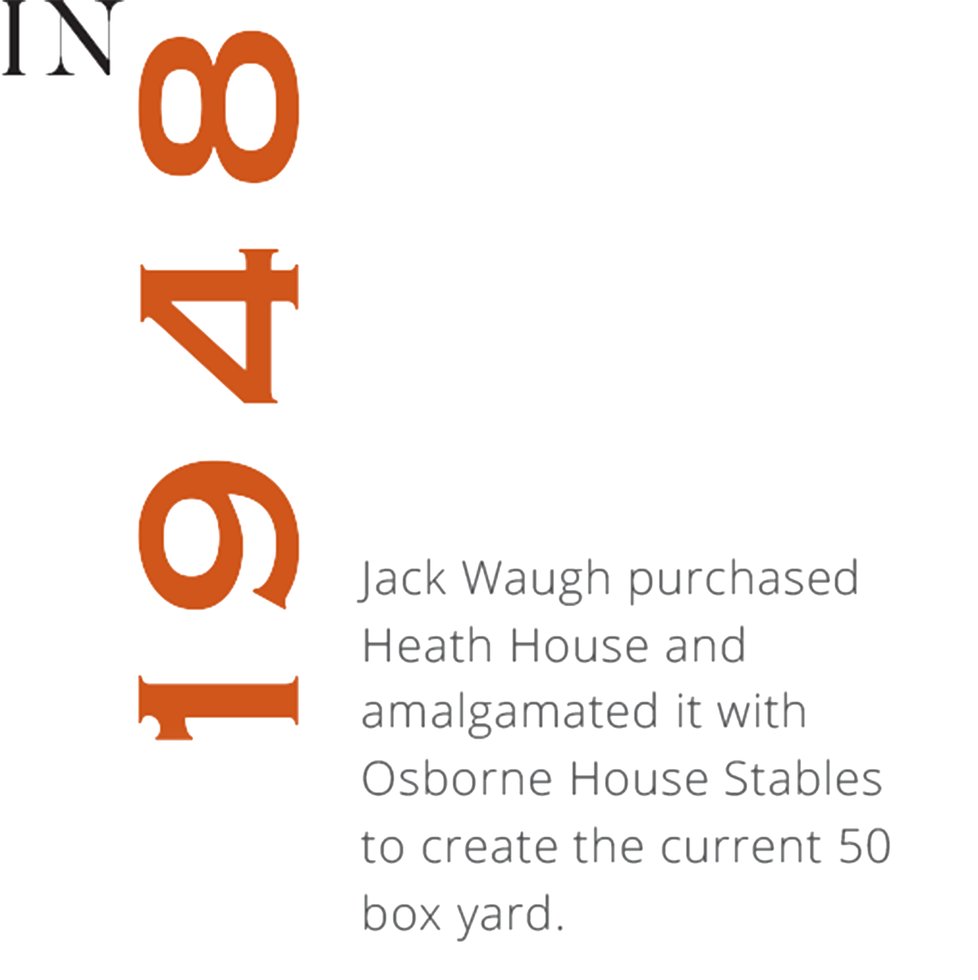 Heath House Stables Jack Waugh