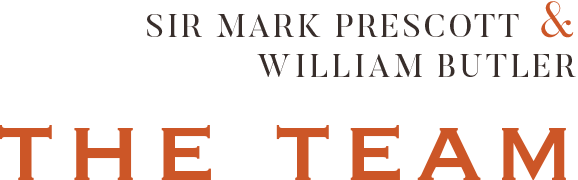 Sir Mark Prescott and William Butler