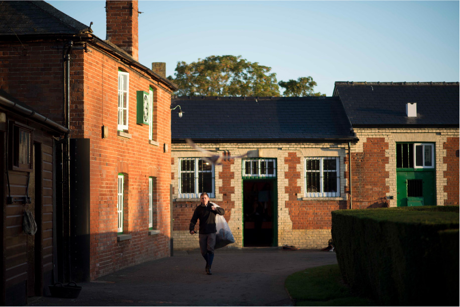 History of Heath House Stables Jack Waugh