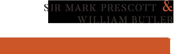 Sir Mark Prescott and William Butler